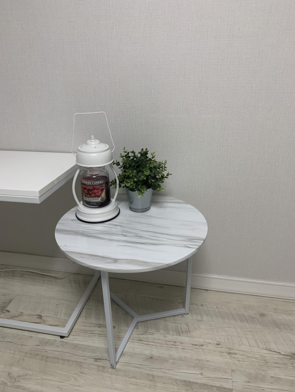 마블 커피 테이블 (라운드테이블)