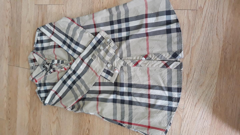 버버리 셔츠(사이즈165)
