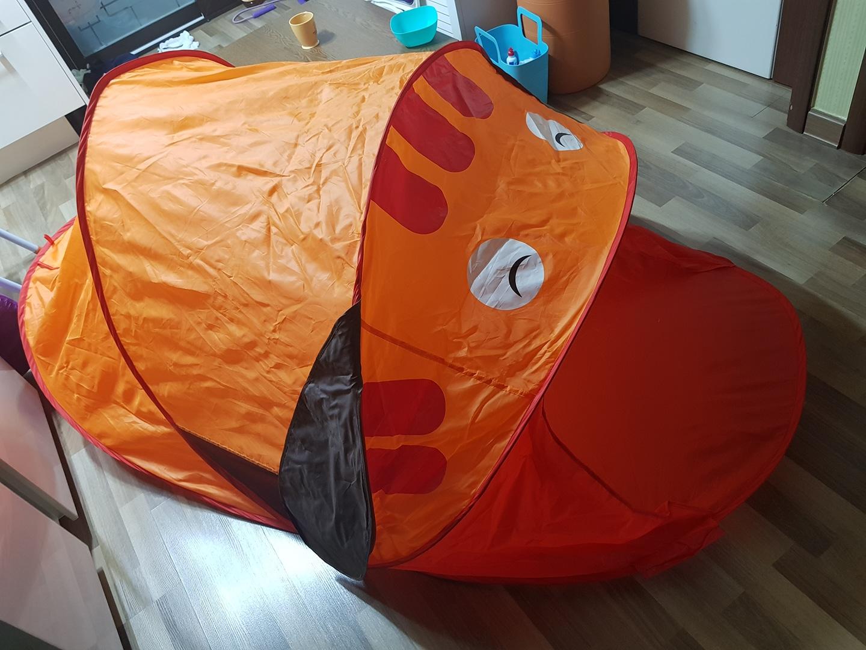 어린이 텐트, 터널 텐트