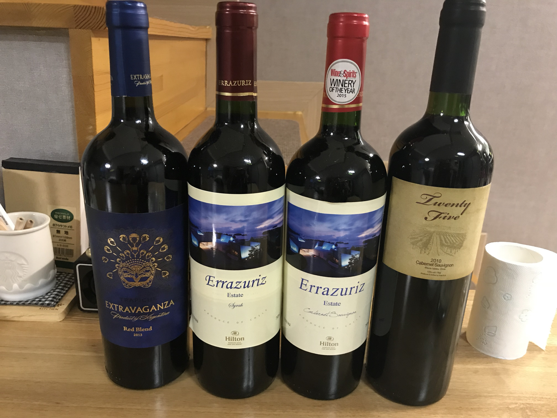 와인 4병