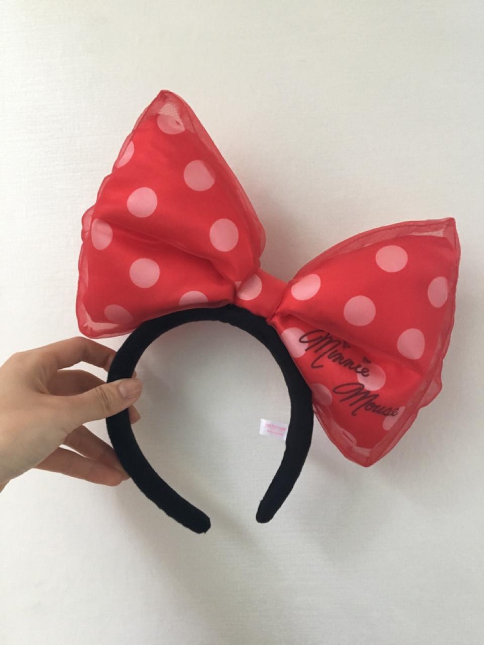 디즈니랜드 리본 머리띠