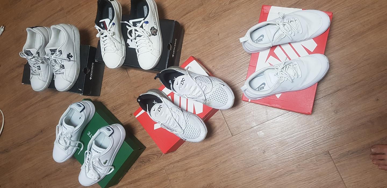 나이키 데상트 라코스테 중고신발 판매합니다