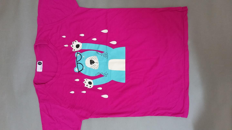 곰  여자반팔티셔츠