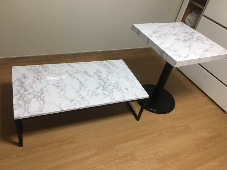 테이블팝니다(좌식, 커피테이블 각 1개씩)