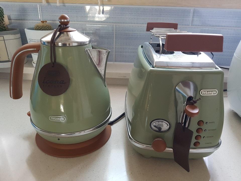 드롱기(토스트기, 전기포트)