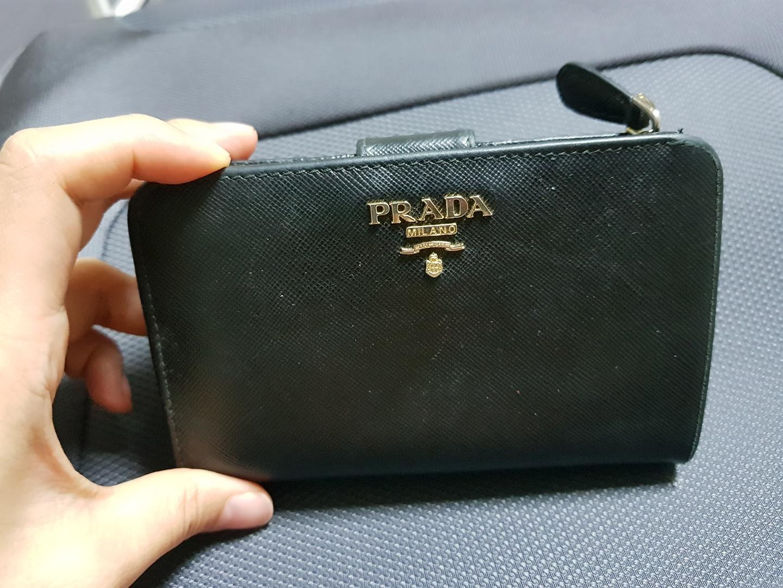 프라다중지갑