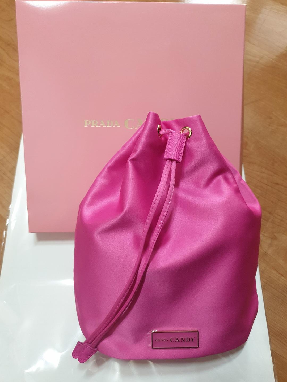 [프라다] PRADA CANDY 핑크 파우치
