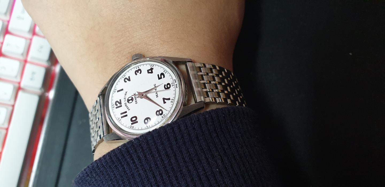 (빠른정리)스위스. 파브레루버. 남성 시계. 엔티크 씨킹.