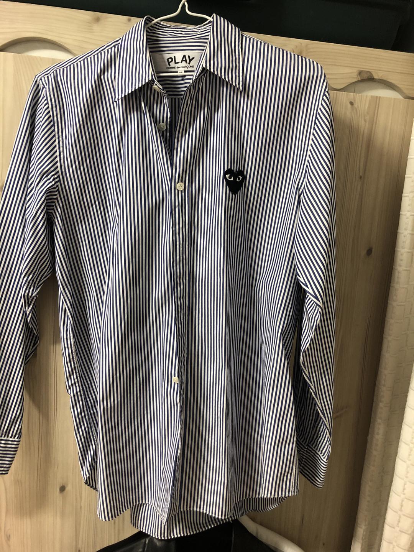 꼼데가르송 정품 스트라이프 셔츠