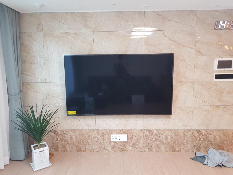 벽걸이시계 LED시계 설치