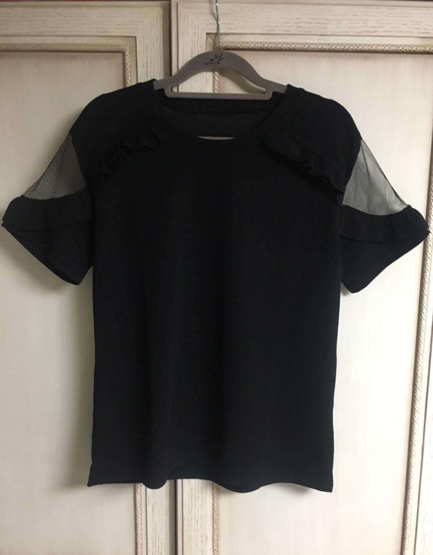 프릴 티셔츠(새상품)