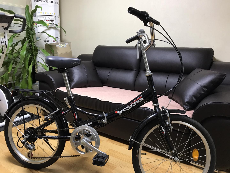 여성용 접이식자전거