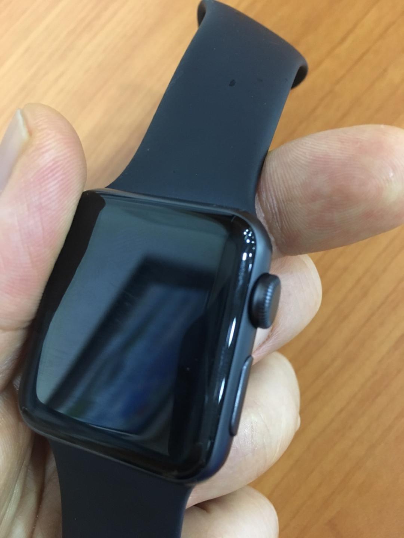 애플 워치 3 gps 38mm 스그 스트랩 s/m