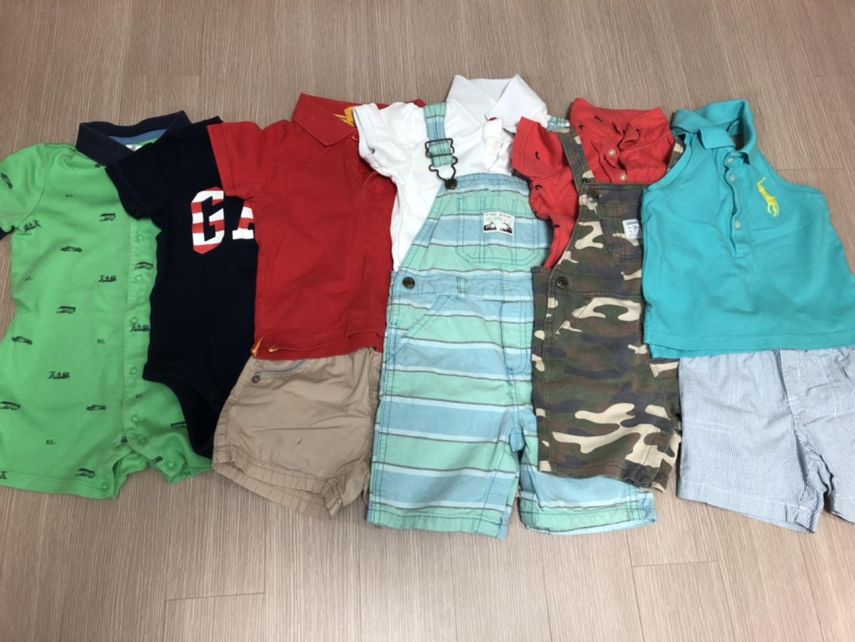 남아 브랜드 여름옷 6종