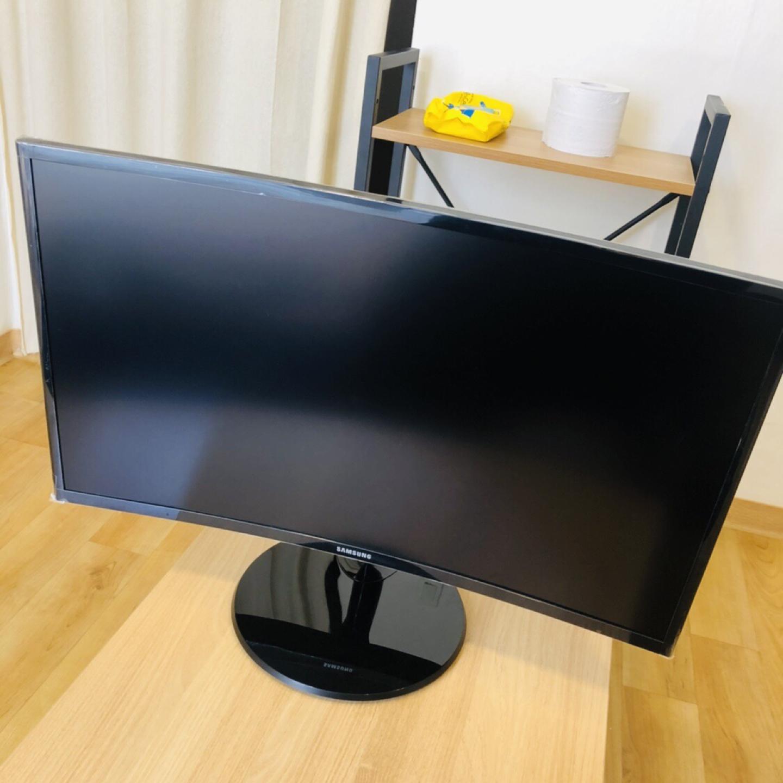 삼성 커브드 27인치 모니터 TV 겸용 팝니다