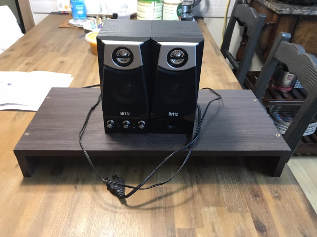 무료나눔) 스피커와 컴퓨터 받침대