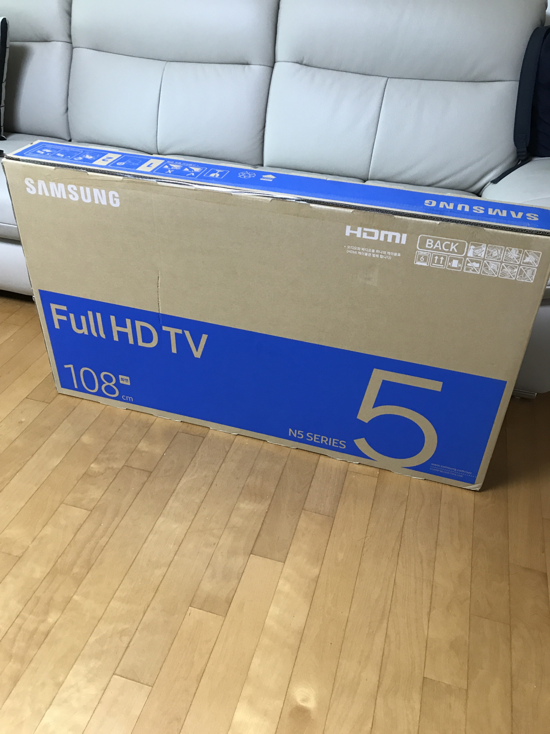 TV - 삼성 full HD TV 108cm