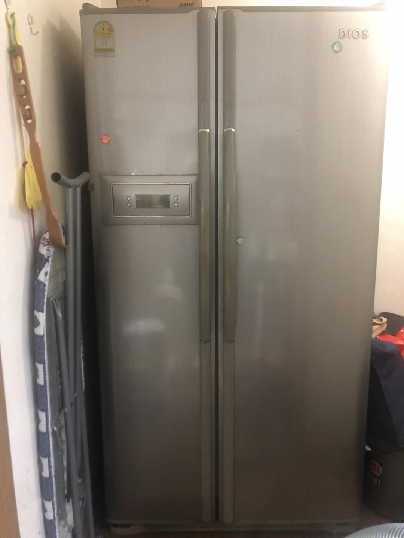 디오스 양문형 냉장고 작동 잘되요 이사정리 때문에 내놓습니다