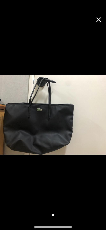 라코스테 가방 라지