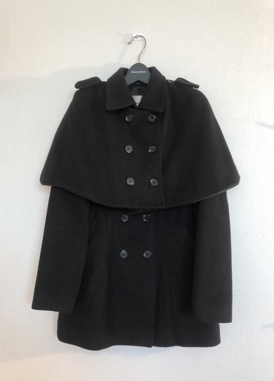 망토 탈부착 가능한 귀여운 코트