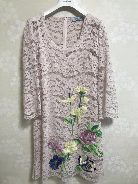 블루마린 Blumarine 레이스 드레스 (44/55 IT40)