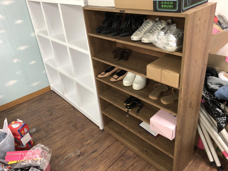 원목 신발장
