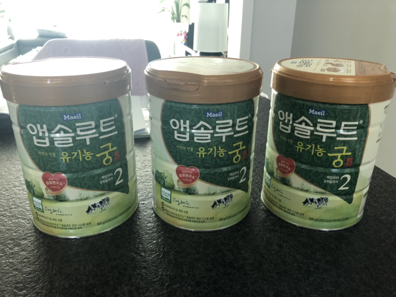 유기농 궁 2단계 3캔(1캔씩 구매가능)-가격내림