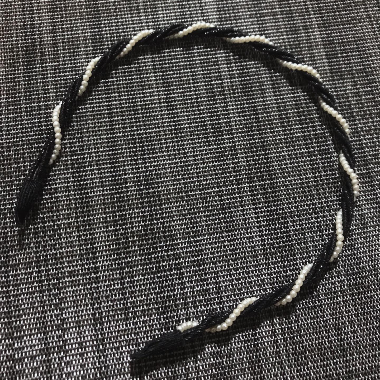 진주머리띠(새상품)