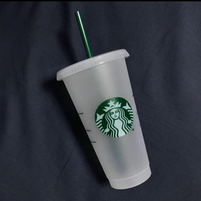 스타벅스 리유저블 텀블러+빨대 세트 팔아용