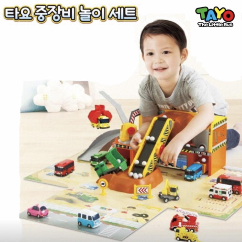 타요 중장비 놀이세트&자동차