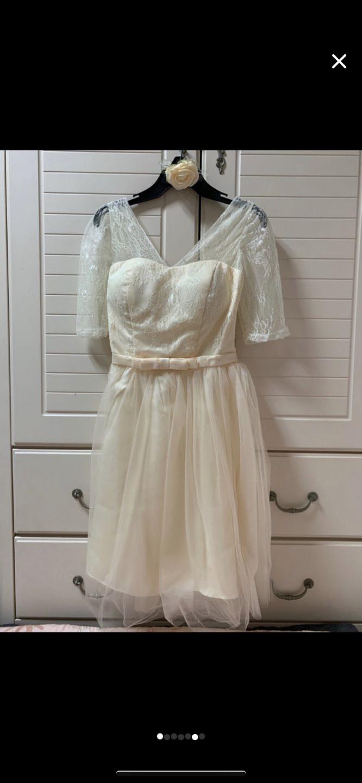 셀프 웨딩 드레스 브라이덜샤워 드레스