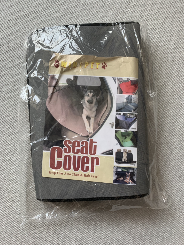 강아지 자동차 시트 커버