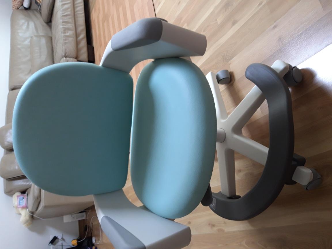 선물하세요.일룸 어린이 의자.한달정도사용.19만원삼. . 상태좋구요. 의자뒤아이가 볼펜그은거 참고
