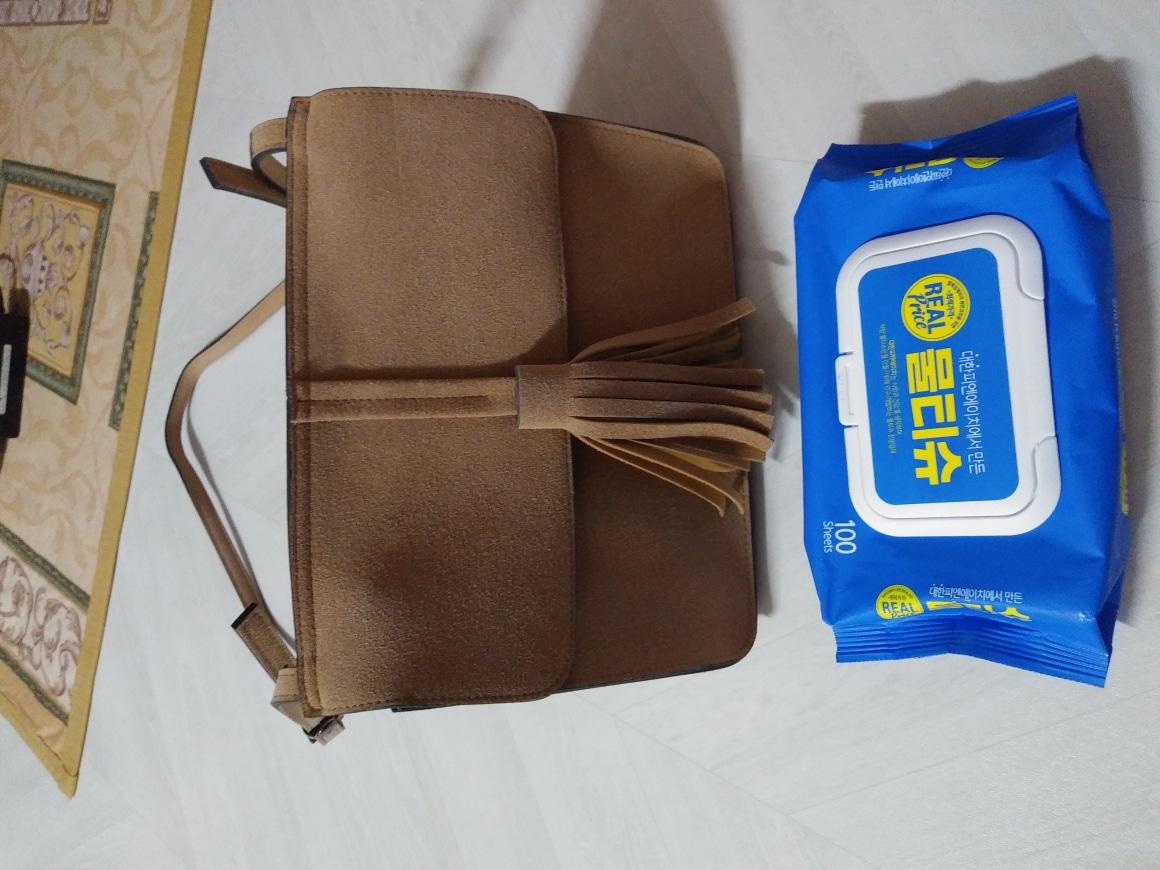 가격내림)세무 가죽 작은 가방