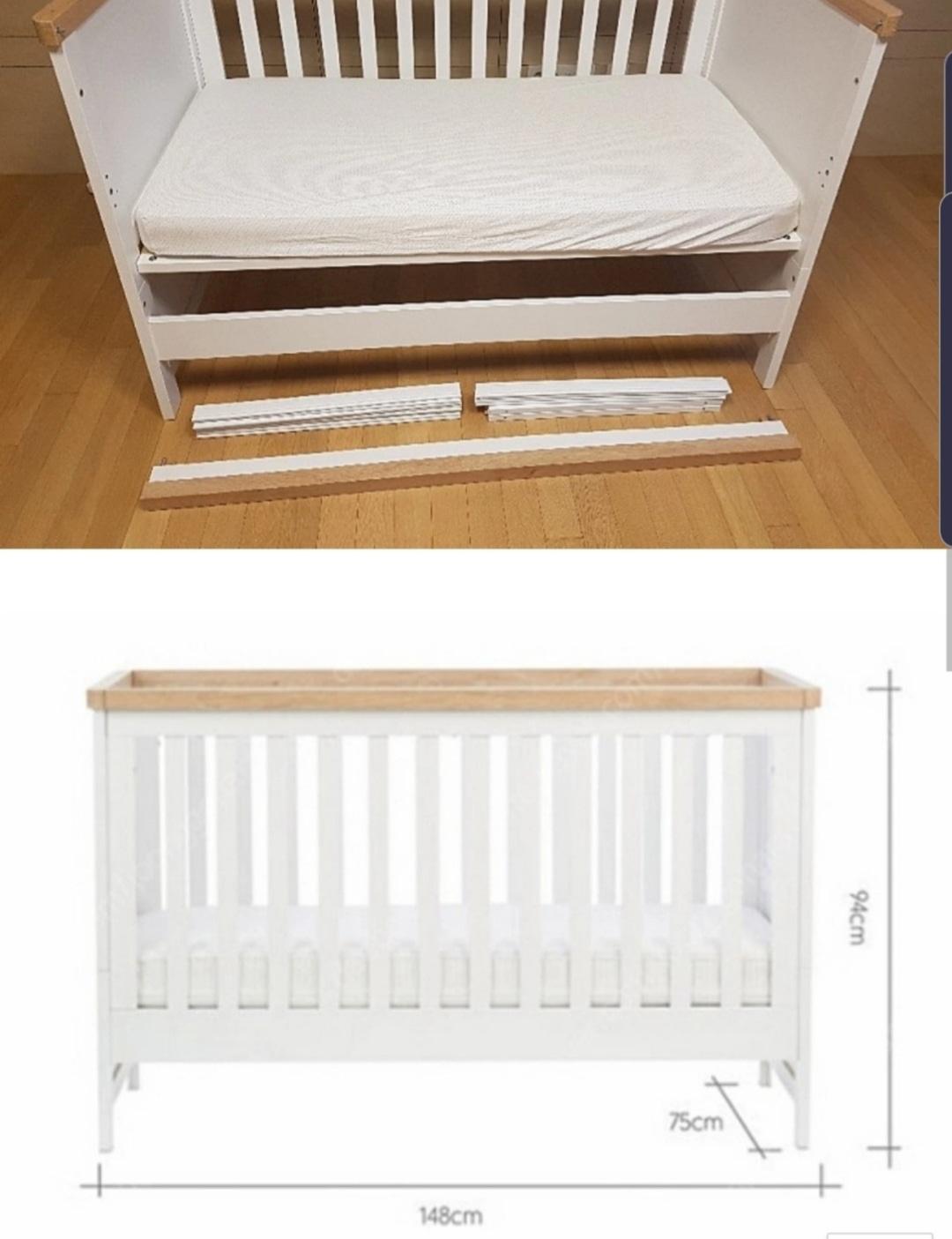 아기침대/유아침대/원목침대/단계조절 가능