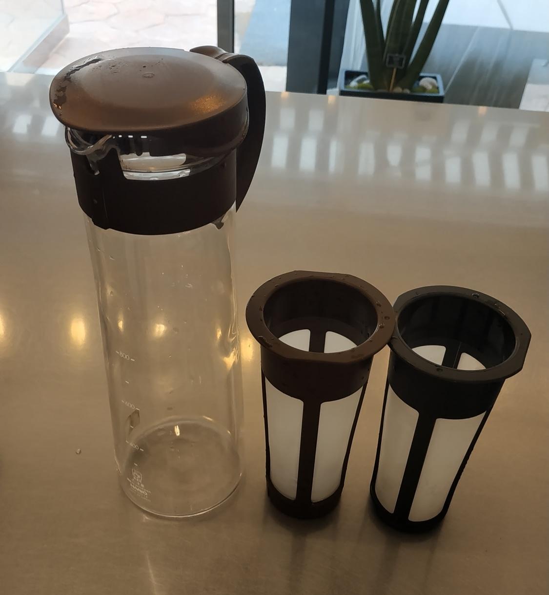 하리오 침출식 커피메이커 MCPN-14 브라운