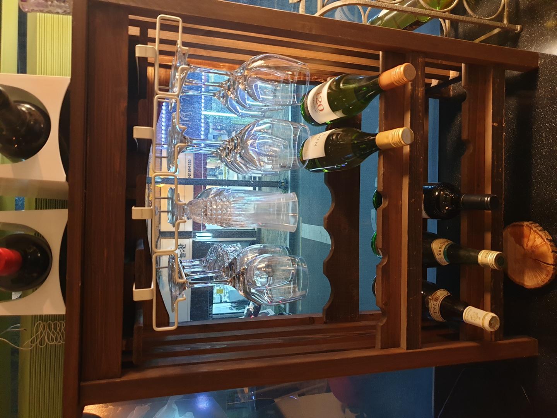 와인 랙 원목