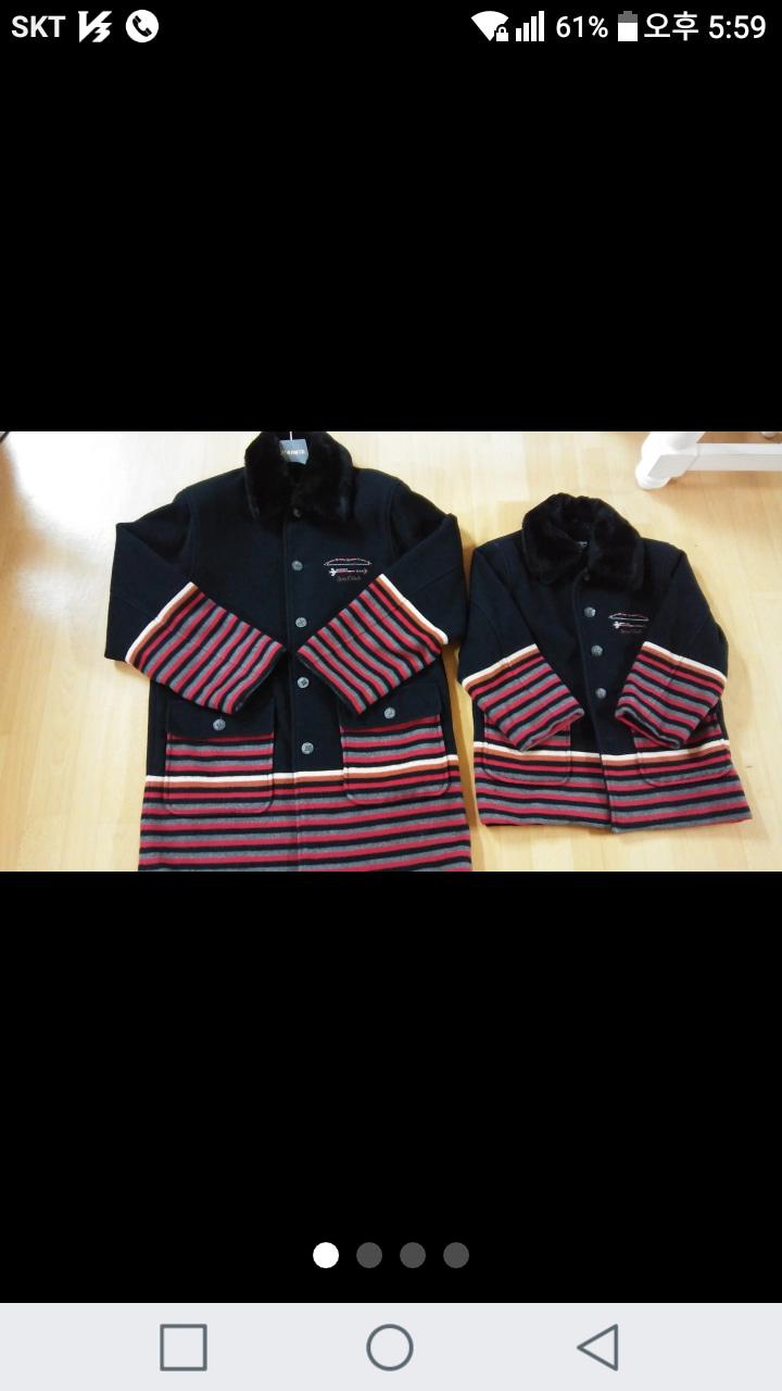 (대ㅡ미착용)소이아동복(모80%) 코트