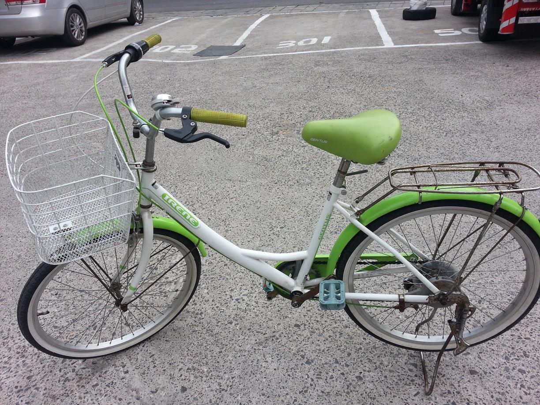 여성용 자전거~