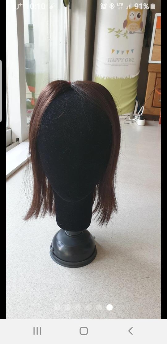 진품머리가발 팝니다