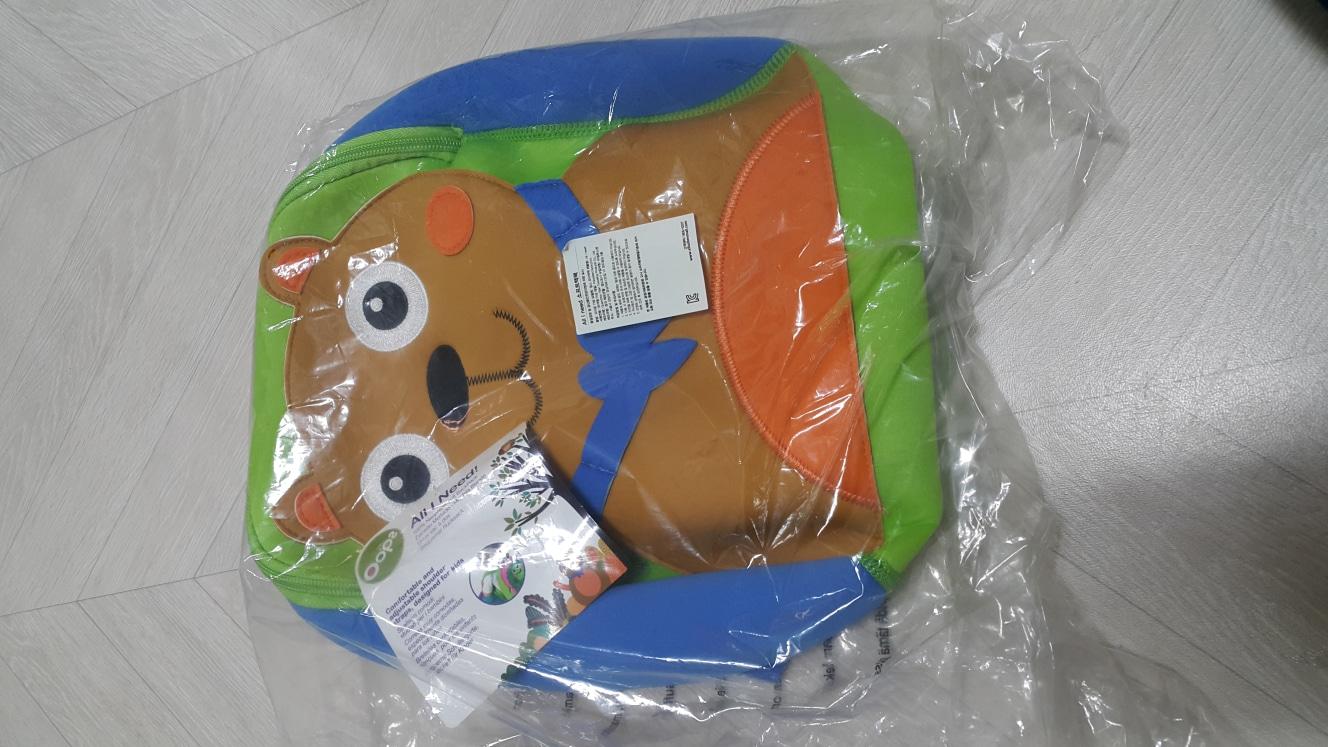 (새상품) 웁스소프트백팩  곰돌이 유치원 소풍가방 아기가방 어린이가방 어린이백팩  유아가방 유아백팩 미아방지백팩