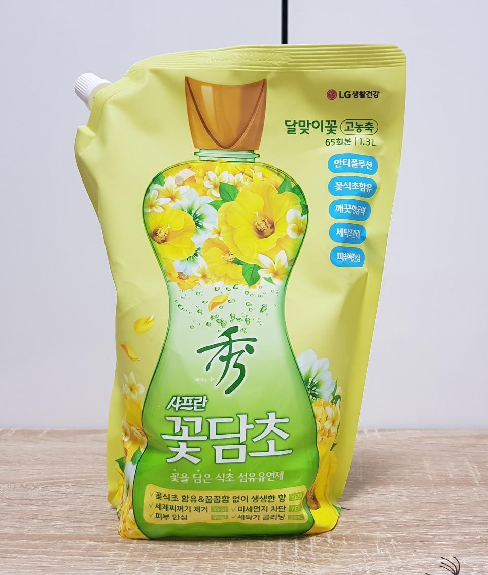 꽃담초 달맞이꽃 섬유유연제