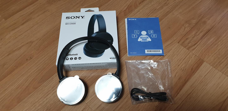 소니 블루투스 헤드폰 WH-CH500