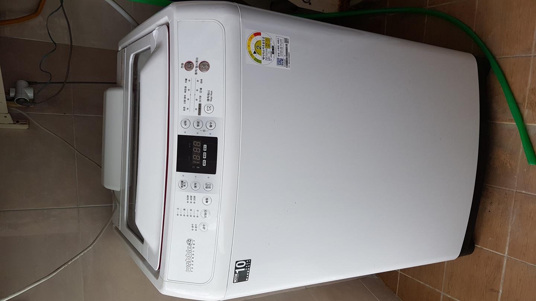 삼성세탁기 15kg  WA15E6K4QWW