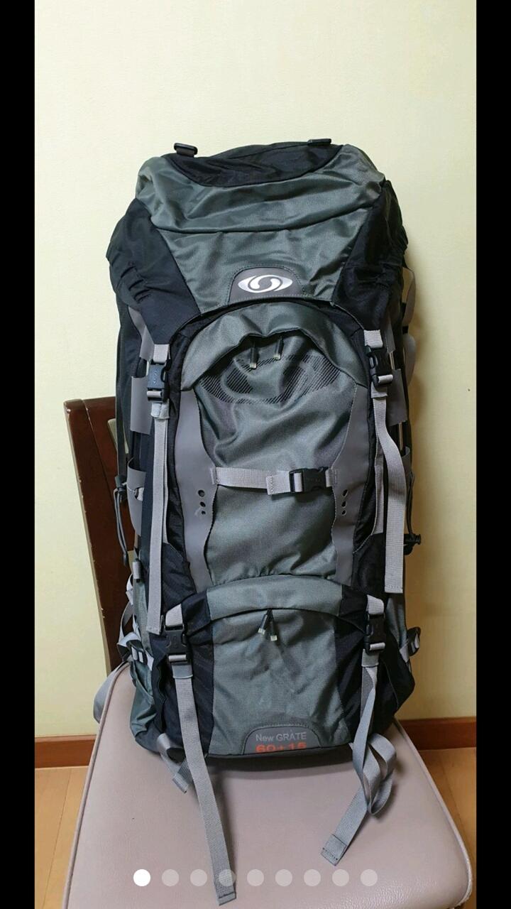 살로몬 등산 가방 등산 배낭 (60+15)