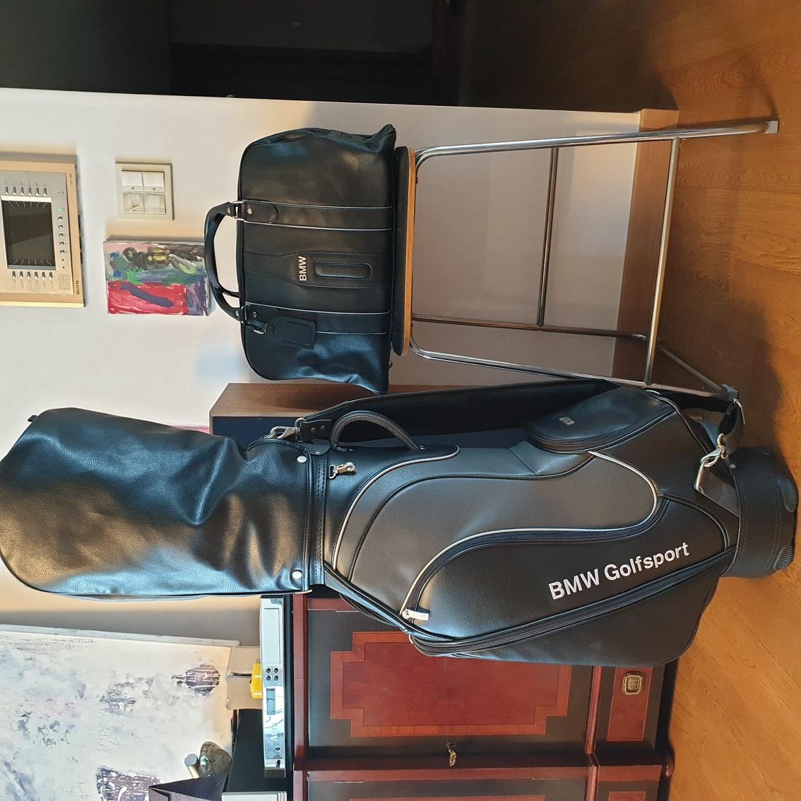 BMW 골프가방 보스톤백+캐디백