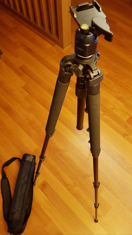 디지털카메라용 삼각대(TMK-244B)& 카메라가방