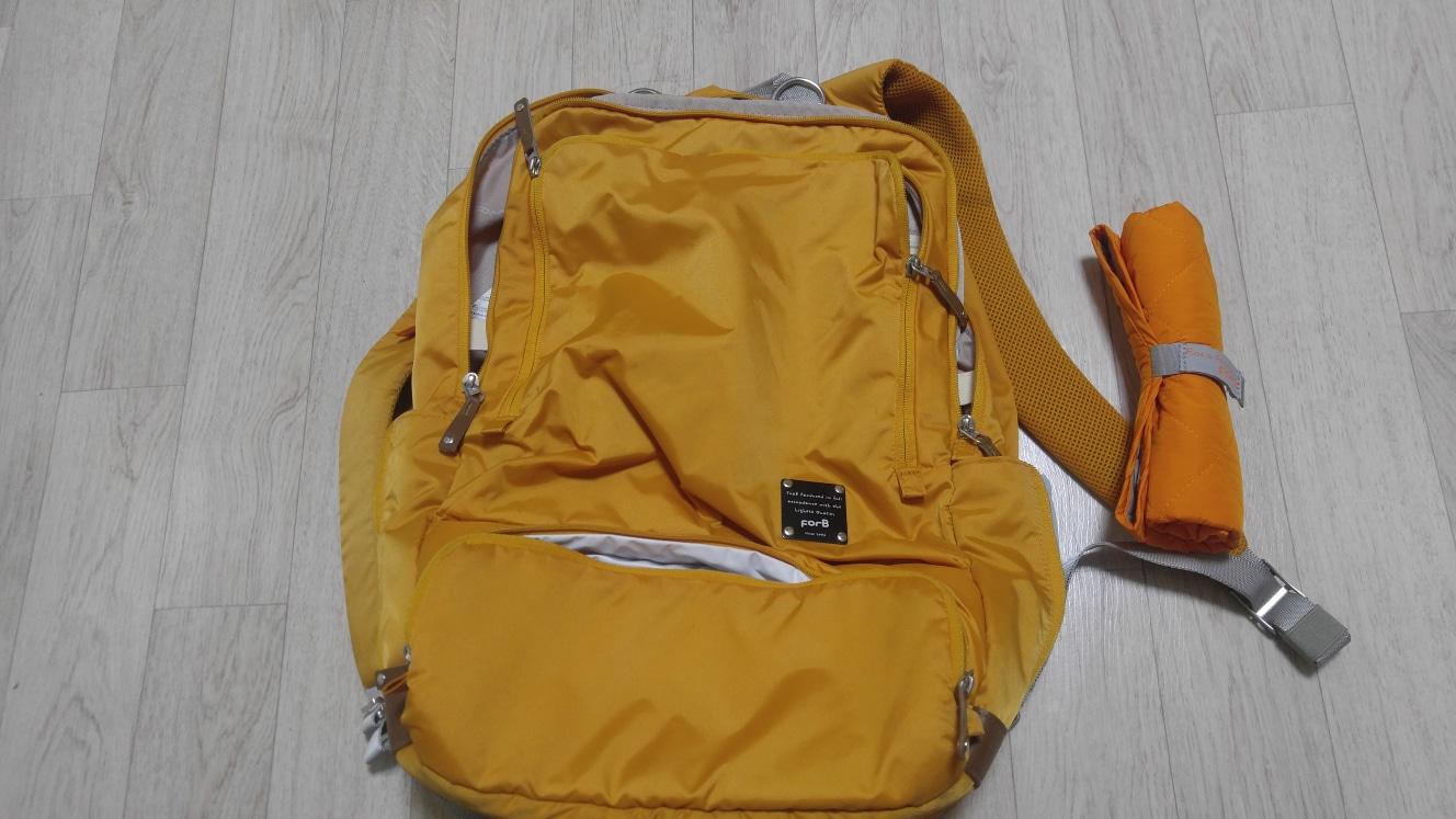 포브 기저귀가방 백팩