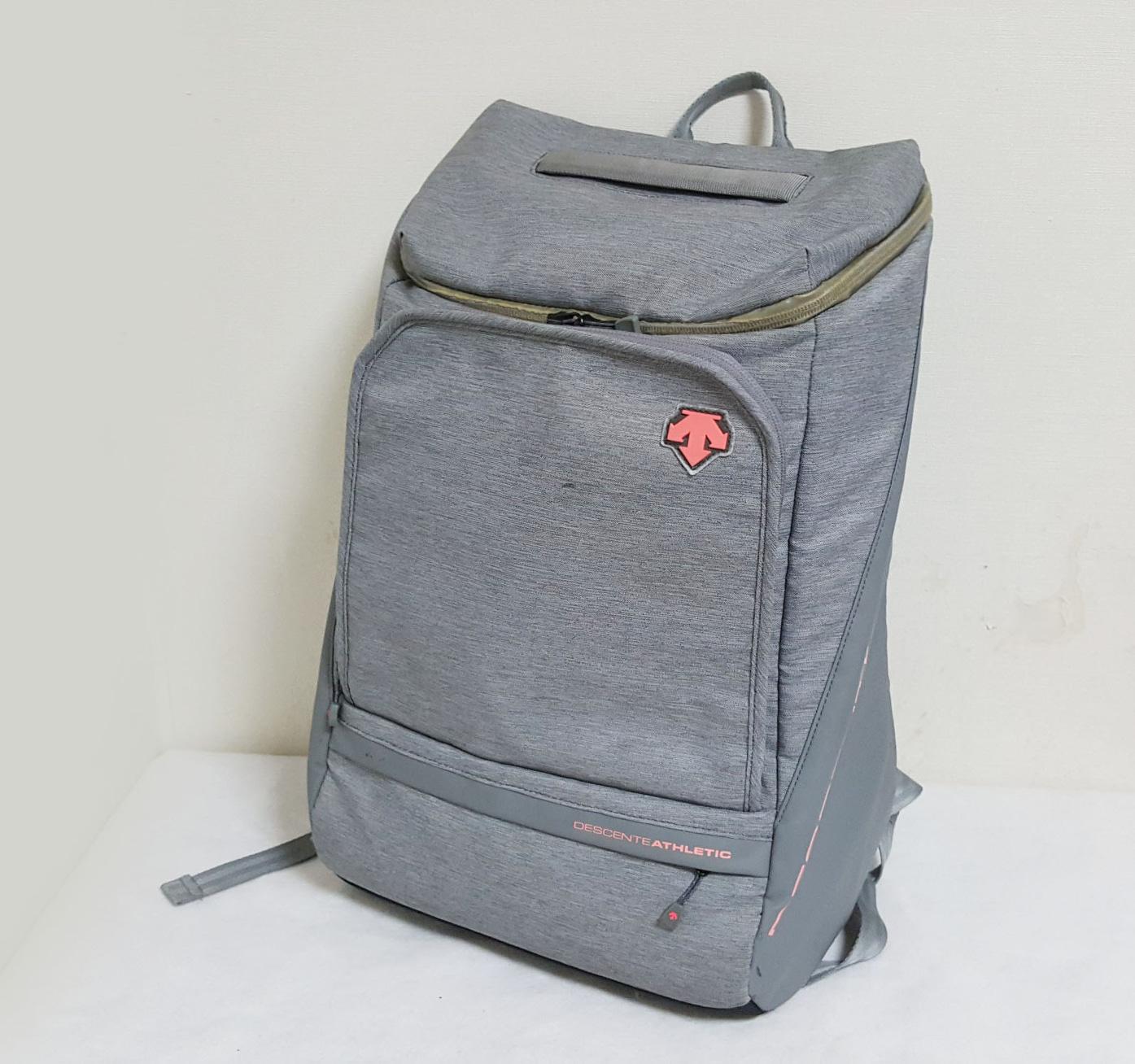 DESCENT/그레이/백팩/책가방/학교가방/데상트