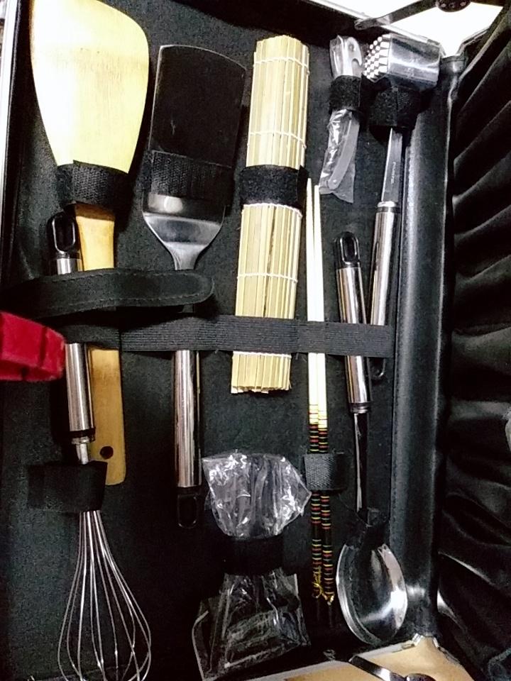 ♥새상품♥조리도구세트&가방